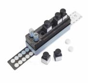 MERCK 110023.0001 Ascorbic Acid Method: colorimetric with test strips 50 - 100 - 200 - 300 - 500 - 700 - 1000 - 2000 mg/l MQuant™ (100 strips)